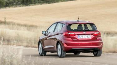 Ford Fiesta Titanium 2017 rear view