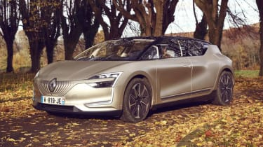 Renault Symbioz concept - front static