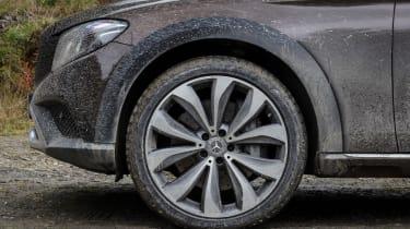 Mercedes E-Class All-Terrain - wheel detail