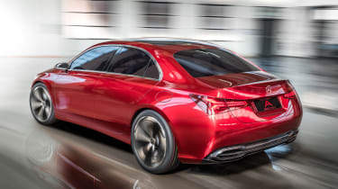 Mercedes Concept A Sedan - rear action