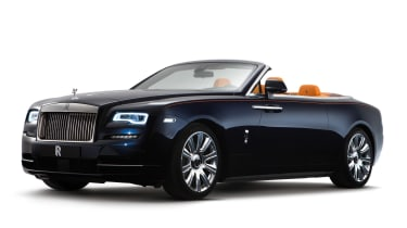 Rolls-Royce Dawn convertible static front