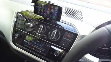 Volkswagen up! - centre console