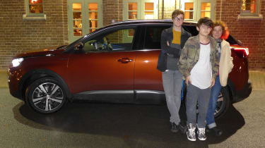 3008 minutes in a Peugeot 3008 - Darren's family