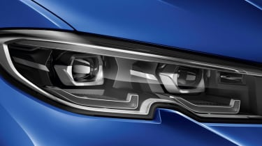 Leaked BMW 3 Series - detail