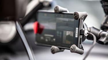 Britain's driverless car network - in car screen