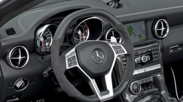 Mercedes SLK55 AMG dash