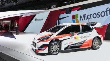 Toyota WRC Paris reveal