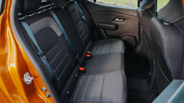Dacia Sandero Stepway - rear seats