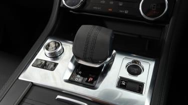 Jaguar F-Pace - control