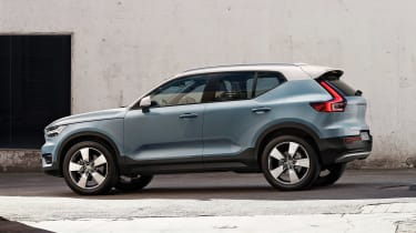 Volvo XC40 - side action