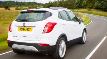 Vauxhall Mokka X 2016 - rear tracking