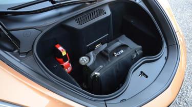 McLaren GT - front storage