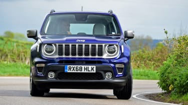 Jeep Renegade - front cornering