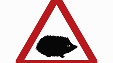 Small animal road signs