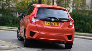 Honda Jazz long-term first report - rear cornering