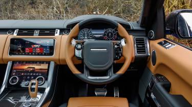 Range Rover Sport SVR - dash