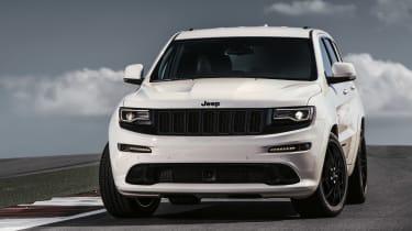 Grand Cherokee SRT - White Front Profile