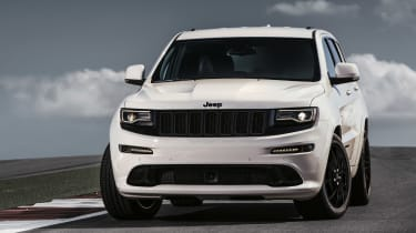 Grand Cherokee SRT - White Front Profile