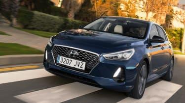 Hyundai i30 2017 - blue front tracking