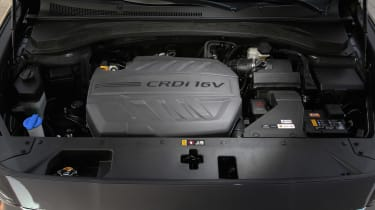 New Hyundai Santa Fe - engine