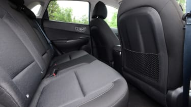 Hyundai Kona electric rear seats