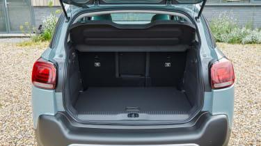 Citroen C3 Aircross facelift - boot