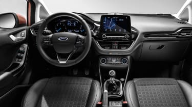 New 2017 Ford Fiesta Titanium - dash