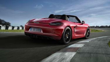 Porsche Boxster GTS 2014 rear