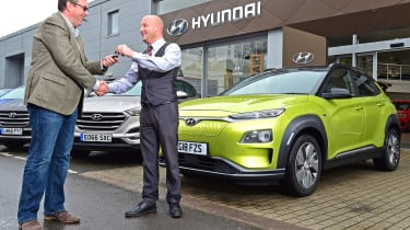 Hyundai Kona Electric Premium SE - long term first report header