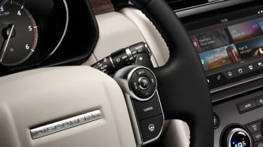 Land Rover Discovery 2017 - official steering wheel