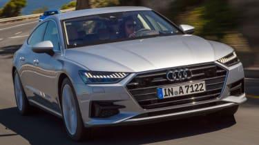 Audi A7 front quarter