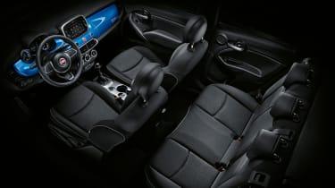 Fiat 500X - seats