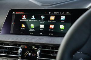 BMW 118i - infotainment