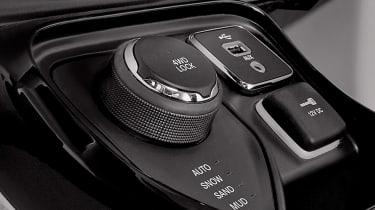 2017 Jeep Compass - centre console dials