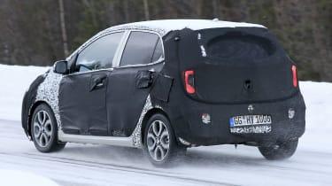 2020 Kia Picanto - spies - rear tracking