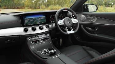 Mercedes-AMG E 53 - cabin