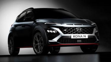 Hyundai Kona N - front teaser