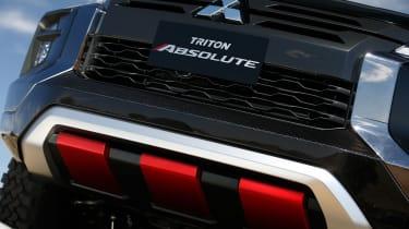 Mitsubishi Triton Absolute - grille