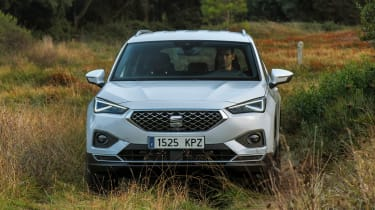 SEAT Tarraco - front off-road
