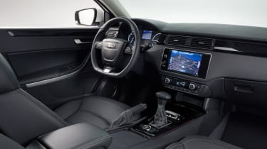 Qoros 3 SUV interior side