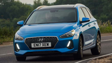 New Hyundai i30 Tourer 2017 - front