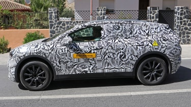 Volkswagen ID.4 SUV - spied - side tracking