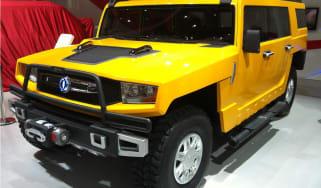 Dongfeng EQ2050 'Hummer clone'