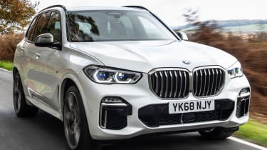 bmw x5 m50d tracking front