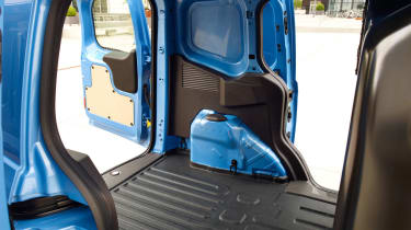 Ford Transit Courier doors inside