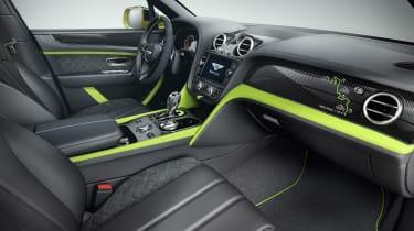 Bentley Bentayga Pikes Peak Limited Edition - dash