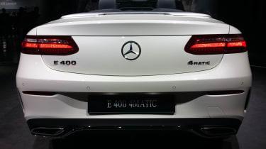 2017 Mercedes E-Class Cabriolet - Geneva rear