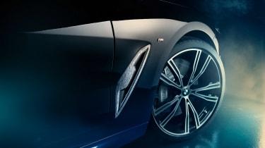 BMW M850i Night Sky - side detail