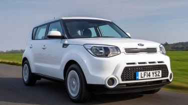 Used Kia Soul - front action