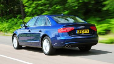 Audi A4 ride